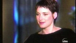 Download Winona Ryder interviewed, part 1 (1999) Very candid Video