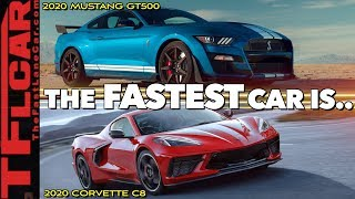 Download 2020 Ford Mustang Shelby GT500 vs New Chevy Corvette C8 | Which One Is Better? Video
