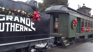Download Knott's Berry Farm's Engine No. 41 Christmas Train 2016 Video