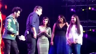 Download Salman khan Da-Bangg Reloaded Tour June 2018 Video