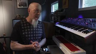 Download Jordan Rudess Home ″Studio A″ Tour Video