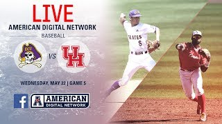 Download 2019 American Baseball Championship: No. 1 ECU vs. No. 5 Houston Video