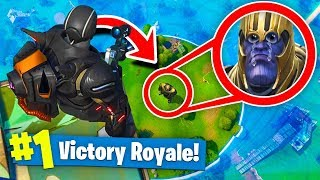 Download TROLLING THANOS In Fortnite Battle Royale! (Infinity Gauntlet) Video