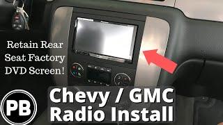 Download 2007 - 2014 Chevy GMC Stereo Install Tahoe Suburban Yukon Impala Avalanche Video