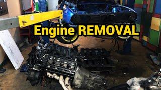 Download EvL Motorsport S1E1 - BMW E30 V8 - Engine removal Video