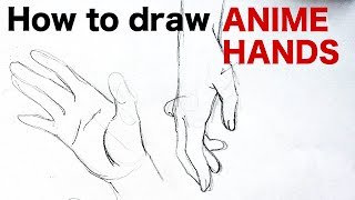 Download How to draw ANIME HANDS by Veteran Animator HINOE|Japanese manga tutorial|ひのえさんのアニメ風手の描き方講座 Video