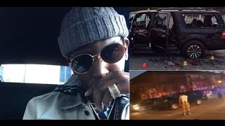 Download Young Dolph Escapes Bullet Ridden SUV after Savages Shot up his Vehicle over 100 times. Video