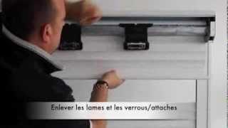 Download Changer le tablier, lames de volet roulant Video
