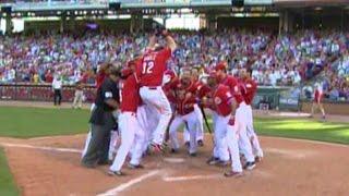 Download ATL@CIN: Bruce's first home run is a walk-off Video