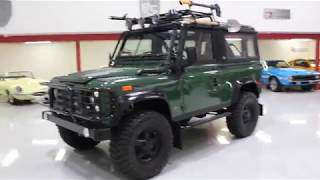 Download 1994 Land Rover Defender 90 For Sale at GT Auto Lounge Video