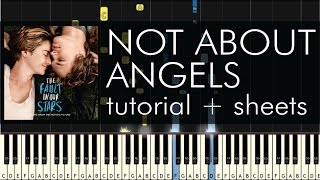Download Not About Angels - Piano Tutorial - How to Play - Birdy Video