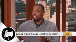 Download Paul Pierce on Kevin Durant: Most dynamic scorer in NBA history   The Jump   ESPN Video