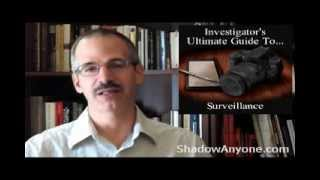 Download 5 Don'ts for Surveillance. Avoid these five things as a Private Investigator. Video
