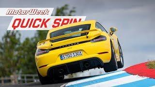 Download 2020 Porsche 718 Cayman GT4 and Boxster Spyder   MotorWeek Quick Spin Video