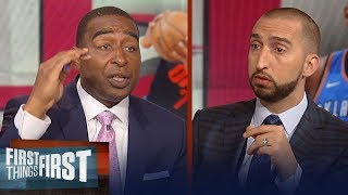 Download Cris and Nick on reports Houston Rockets intend to sign Carmelo Anthony | NBA | FIRST THINGS FIRST Video