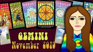 Download Tarot psychic reading GEMINI NOVEMBER 2019 It's Go Time! - Tarot psychic reading forecast Video
