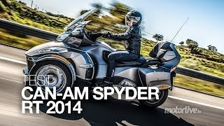Download TEST | CAN-AM SPYDER RT 2014 : 3 cylindres pour 3 roues Video