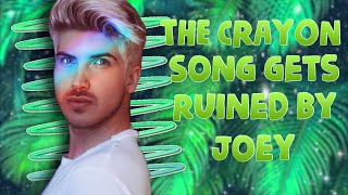 Download THE CRAYON SONG GETS RUINED BY JOEY | PositiveRemark Video