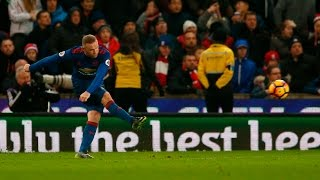 Download Stoke City 1-1 Manchester United   ROONEY GOAL RESCUES UNITED Video