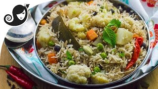 Download 30-minute One Pot Vegetable Pulao (Rice Dish) | Vegan/Vegetarian Recipe Video