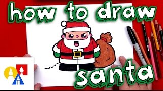 Download How To Draw Cartoon Santa Claus Video