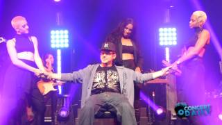 Download Ciara gives fan a lap dance to 'I Run It' live New York City Video