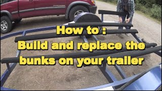 Download How to: Make and replace your trailer bunks Video