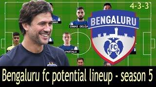 Download BENGALURU FC Potential lineup ISL 2018/19 Season Video
