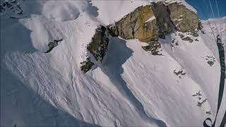 Download Massive Avalanche Speedriding with Maxence Cavalade 18 february 2018 in Val d'Isère - 984841 Video