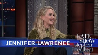 Download Jennifer Lawrence And Stephen Kick Off Their Shoes Video