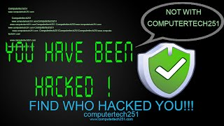 Download How to find if someone hacked your computer HD Video