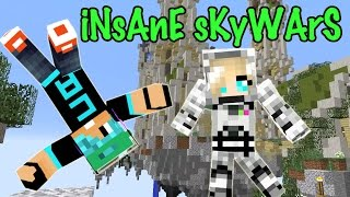 Download INSANE SKYWARS - Insane Team Mode Skywars with Cybernova - Minecraft Video