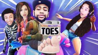 Download Toe Update. Squads w/ Daequan, Myth, Pokimane! - Valkyrae Fortnite Video
