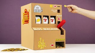 Download Handmade Fully Working Slot Machine and More Cool Inventions Video