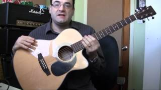 Download Sigma 000MC-1STE Acoustic Guitar Review Video