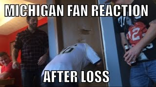 Download Crazy Michigan Fan Reaction After Loss Video