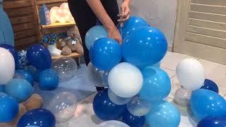 Download Como Fazer Arco de balões desconstruído Video