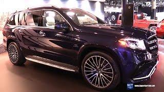 Download 2017 Mercedes AMG GLS Class GLS 63 - Exterior and Interior Walkaround - 2016 LA Auto Show Video