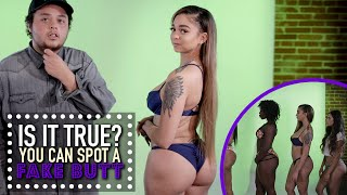 Download You Can Spot A Fake Butt | Is It True? Video