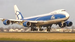Download Close up HEAVY planes landing - Plane spotting at Schiphol Amsterdam (HD) Video