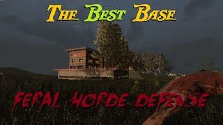 Download Best Base Build For 7 Days to Die - Feral Horde Defense (Alpha 14) Video
