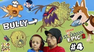 Download GET REVENGE ON BULLY!! DRAW A STICKMAN EPIC 2 🚸 Chapter 4: A Town in Need (FGTEEV + MAX & MIDNIGHT) Video