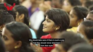 Download She is your lover.!! Not a ****h..!!!   The Healer Foundation   Sakthi speech   motivation video Video