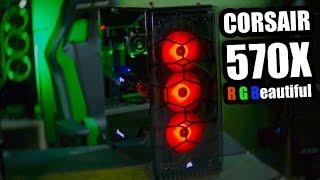 Download Corsair 570X Case review & PC Build Video