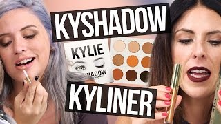 Download Unboxing Kylie Jenner KYSHADOW, KYLINER, & BIRTHDAY MAKEUP (Beauty Break) Video