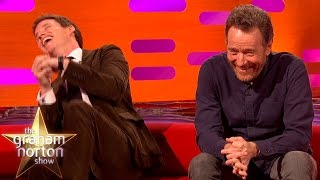 Download Eddie Redmayne Really Loves Bryan Cranston's Hilarious Vintage Dating Vids - The Graham Norton Show Video