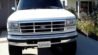 Download Pat's 1996 Ford F250 7.3 Powerstroke Turbo Diesel Video