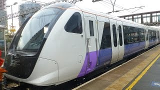 Download First London Class 345 Crossrail Train Video