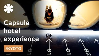 Download Capsule hotel, ancient city: sleeping in a Kyoto pod for $40 Video