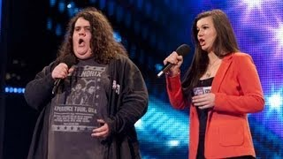 Download Opera duo Charlotte & Jonathan - Britain's Got Talent 2012 audition - UK version Video